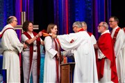 Moving worship service celebrates milestones in ministry