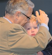 Fri. highlights: Baptism, Jeanne Audrey Powers, election of delegates