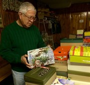 North Star District churches provide 500 shoeboxes to children in need