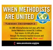 Support missions, double impact on 'Giving Tuesday'