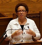 Rev. Cynthia Williams delivers invocation for governor's State of the State Address