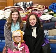 Fairmount Avenue UMC youth group provide warmth to homeless