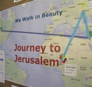 Richfield UMC journeyed to Jerusalem during Lent