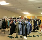 Grand Rapids UMC's 'open-door coat rack' provides winter gear for 1,200