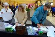 Messiah UMC takes to the mall, engages shoppers in health kit assembly