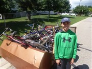Byron UMC youth shares God's love through bike ministry